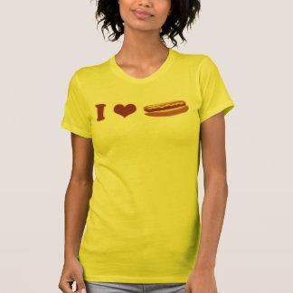 I chemise de saucisse de coeur t-shirt