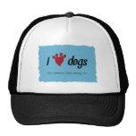 I chiens de coeur casquettes