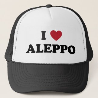I coeur Alep Syrie Casquette