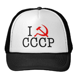 I coeur (AMOUR) CCCP Casquette