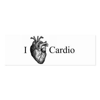 I coeur cardio- carte de visite petit format