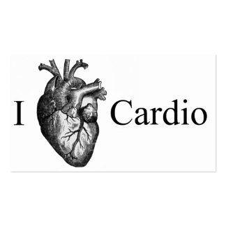 I coeur cardio- carte de visite standard