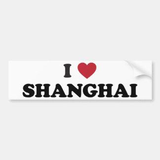 I coeur Changhaï Chine Autocollant Pour Voiture