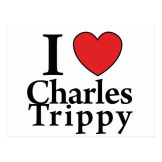I coeur Charles Trippy Carte Postale