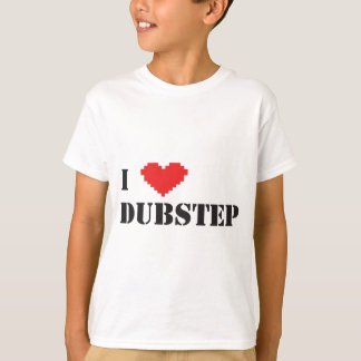 i coeur Dubstep T-shirt