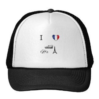 I coeur France Casquette Trucker