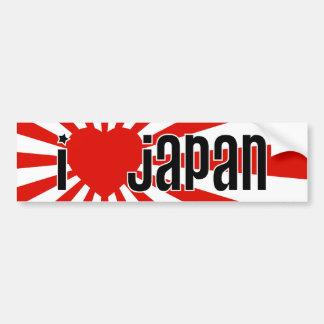 I coeur Japon ! Autocollant Pour Voiture