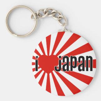 I coeur Japon ! Porte-clé Rond