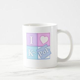 I coeur K~Pop Mug Blanc
