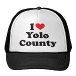 I coeur le comté de Yolo Casquette De Camionneur