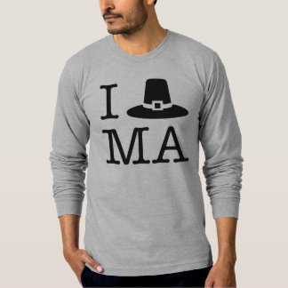I coeur le Massachusetts T-shirt