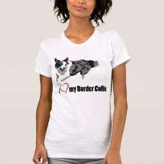 I {coeur} le T-shirt de mes femmes de border