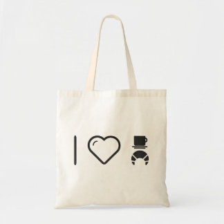 I coeur les tasses sac en toile budget