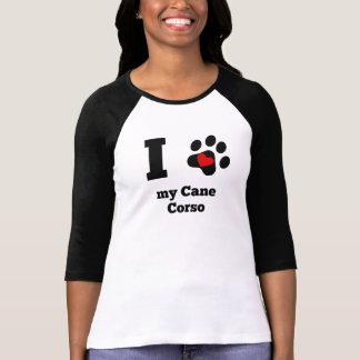 I coeur ma canne Corso T-shirt