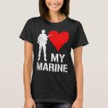 I coeur ma marine t-shirt