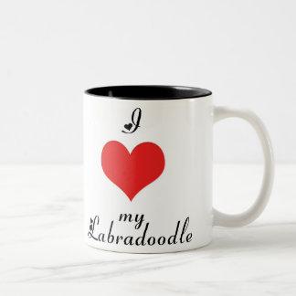 I coeur ma tasse de Labradoodle