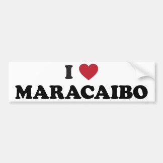 I coeur Maracaïbo Venezuela Autocollant De Voiture