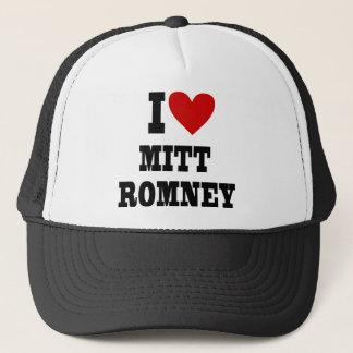 i coeur Mitt Romney Casquette