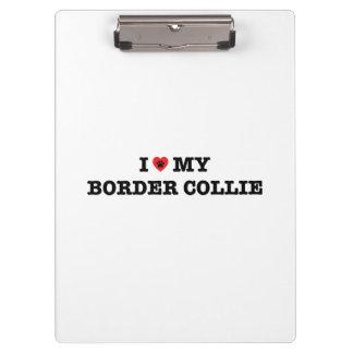 I coeur mon border collie
