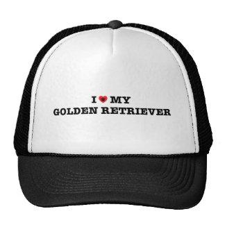 I coeur mon casquette de camionneur de golden