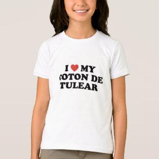 I coeur mon coton de Tulear T-Shirt