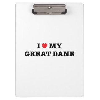 I coeur mon great dane