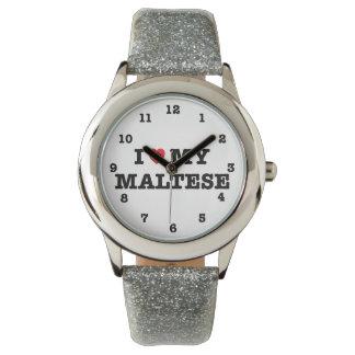 I coeur mon maltais montre
