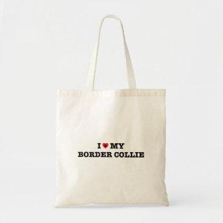 I coeur mon sac fourre-tout à border collie