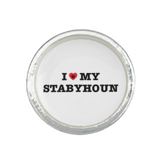 I coeur mon Stabyhoun Bague