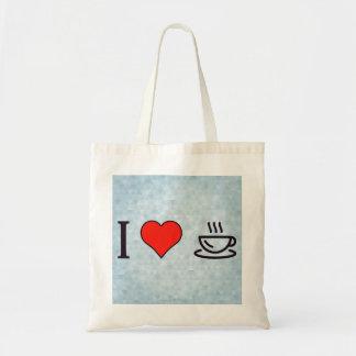 I coeur pour avoir le café sac fourre-tout