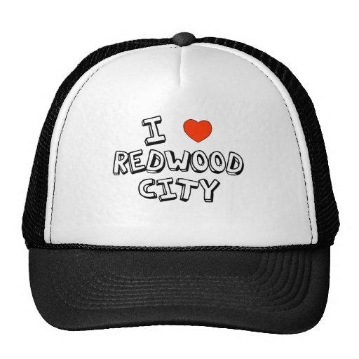 I coeur Redwood City Casquettes De Camionneur