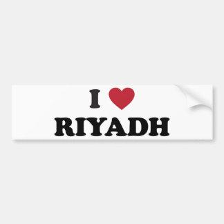 I coeur Riyadh Arabie Saoudite Autocollant Pour Voiture