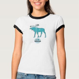 I coeur Suède T-shirts