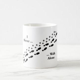 I de l'amoureux des chiens ne marchent jamais mug