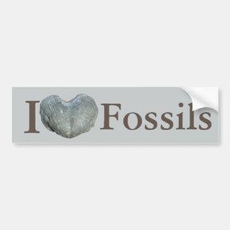 I fossiles de coeur autocollant pour voiture