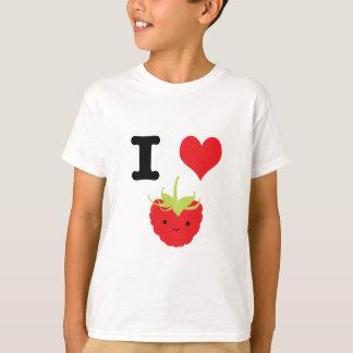 I framboises de coeur t-shirt