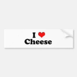 I fromage de coeur autocollant pour voiture
