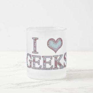 I geeks de coeur tasse