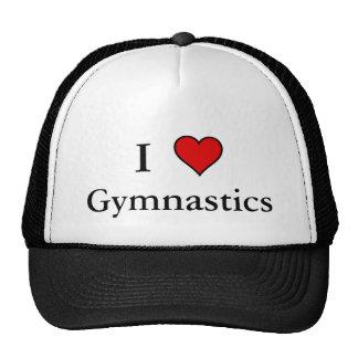 I gymnastique de coeur casquettes
