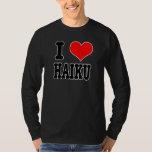 I HAIKU DE COEUR (AMOUR) T-SHIRTS