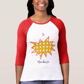 """I """"haine"""" lundi avec le T-shirt d'Emojis de"""