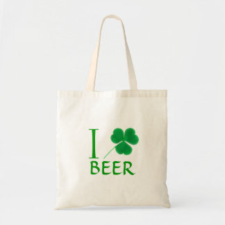 I Irlandais de bière d'amour de shamrock Sac Fourre-tout