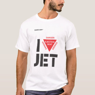 I Jet love T-shirt