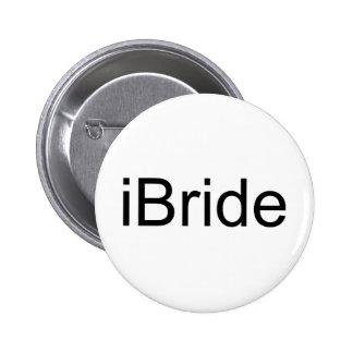 i jeune mariée badges avec agrafe