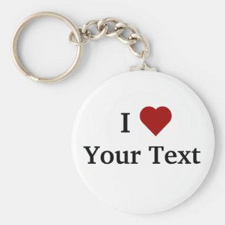 I keychain de coeur personnalisez