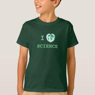 I la Science de coeur badine le scientifique T-shirt