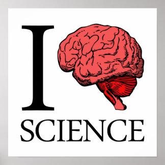 I la science du cerveau (je sais la Science) (la S Affiches
