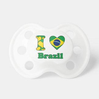 I love Brazil Tétine Pour Bébé