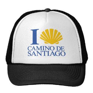 I Love Chemin Santiago Casquettes De Camionneur
