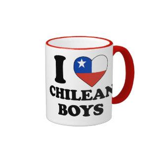 I love Chilean Boys Mug Ringer